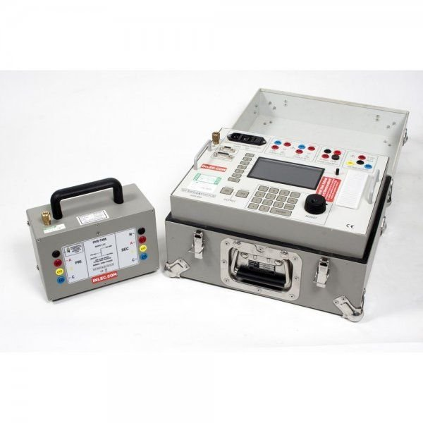 T and R Test Equipment DVS3 MK2 Three Phase Digital Voltage Source with DVS 1_2.2 Step Up Transformer