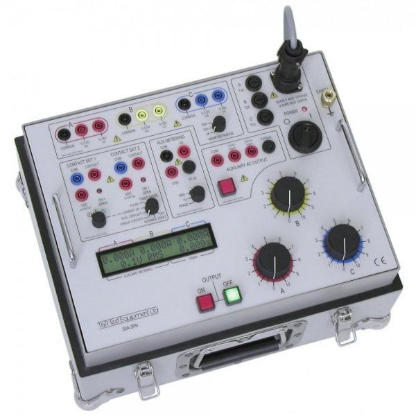 T and R Test Equipment 50A 3PH Current Injection Test Set