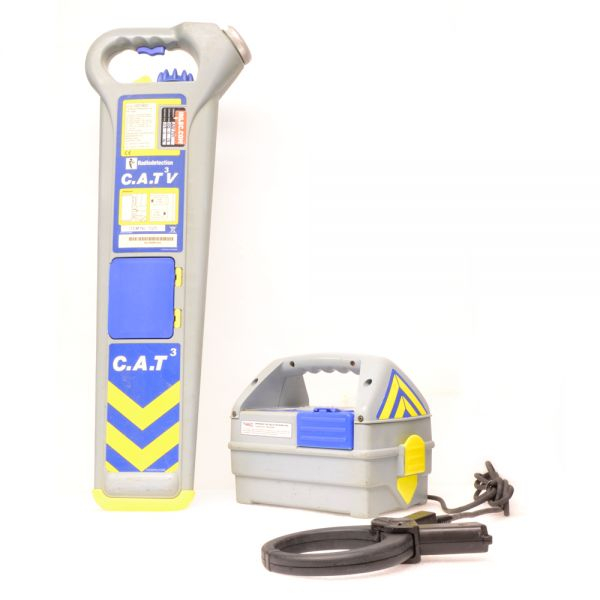 Radiodetection Cable Locators : Radiodetection cat v genny cable locator hire inlec