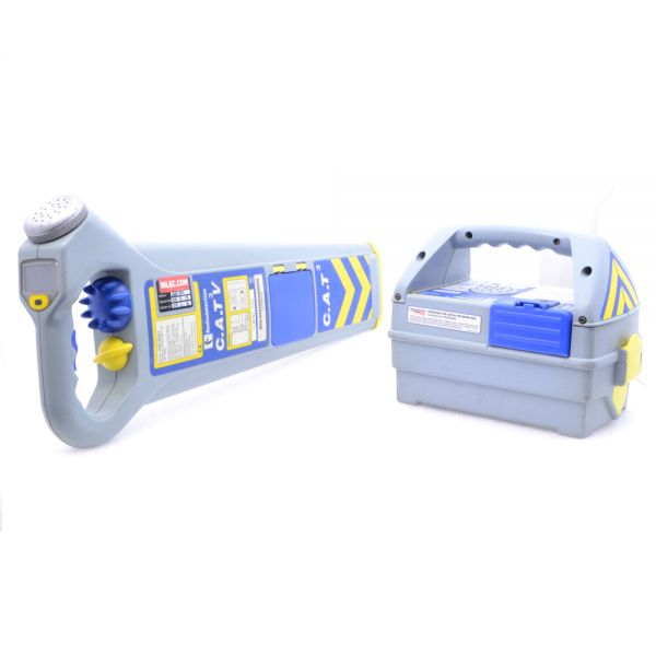 Wire Locator Rental : Radiodetection cat v genny cable locator hire inlec