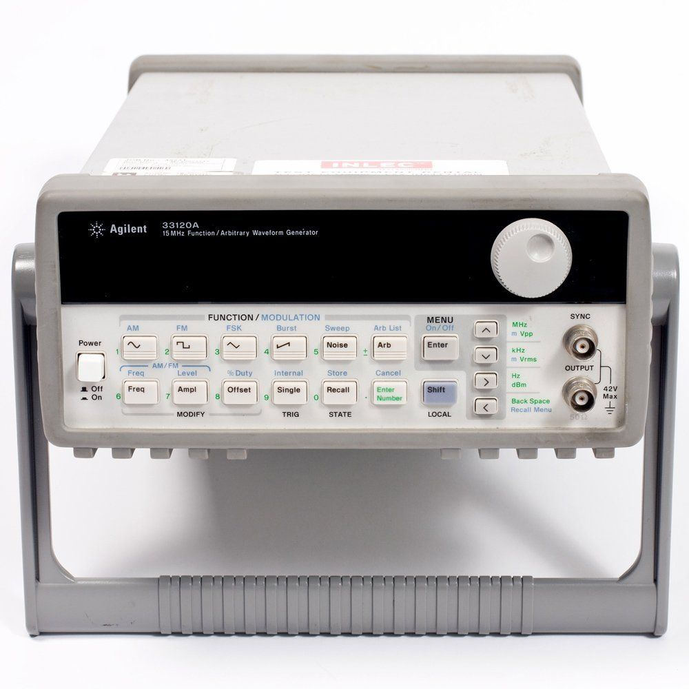 Agilent Technologies Hp 33120a Function Arbitrary Waveform