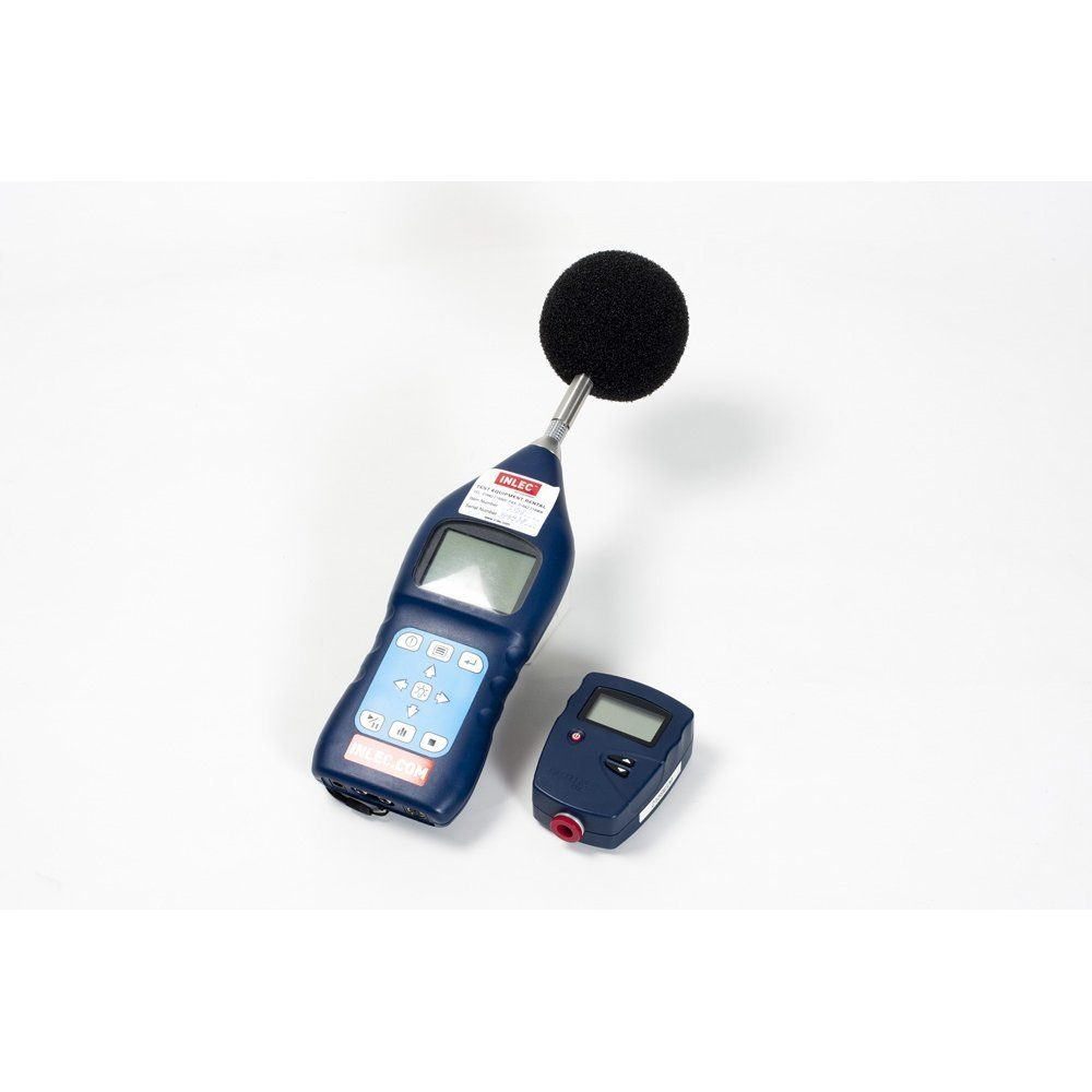 Sound Meter And Light Hire Inlec Pressure Casella Measurement Cel 480 B Classic Logging Class 2 Level