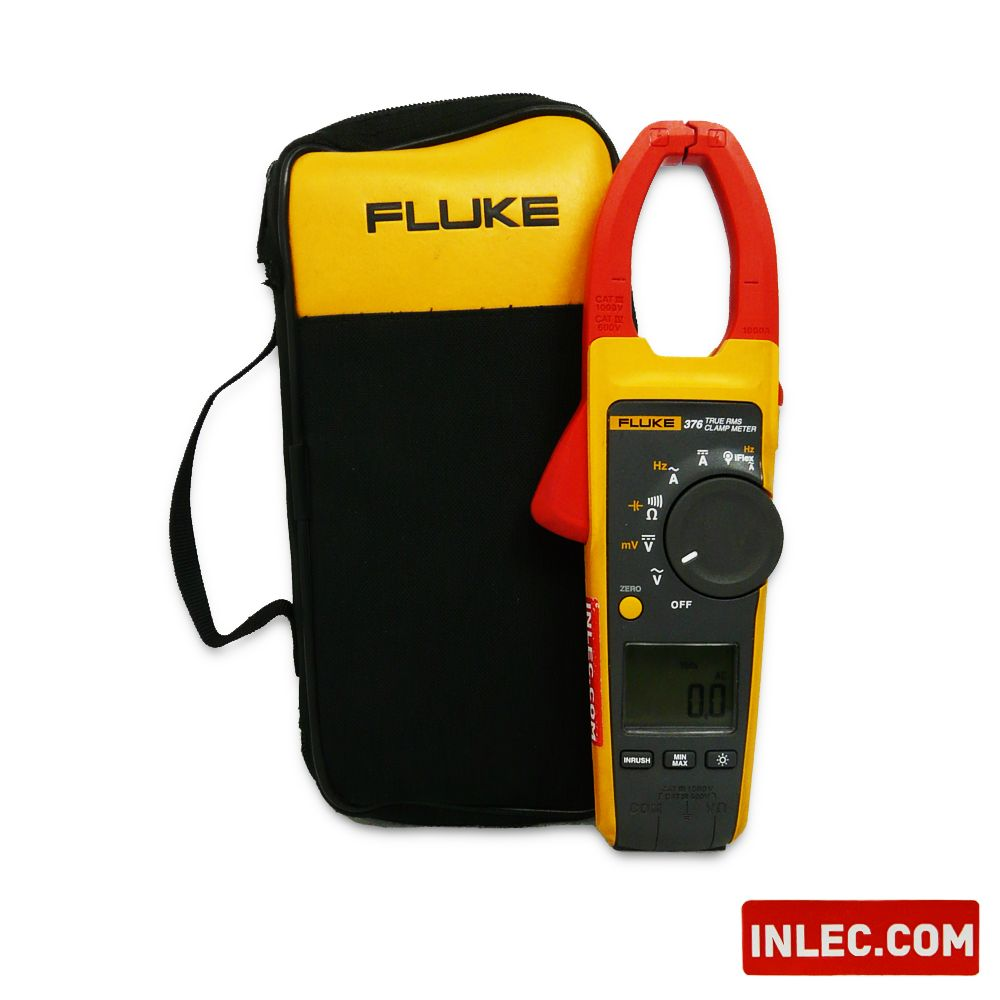 Fluke Clamp Meter : Fluke true rms ac dc clamp meter with iflex hire inlec