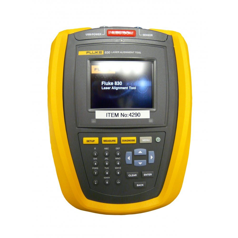 Fluke 830 Laser Shaft Alignment Tool Easy to use laser shaft alignment tool  gives fast accurate and actionable results