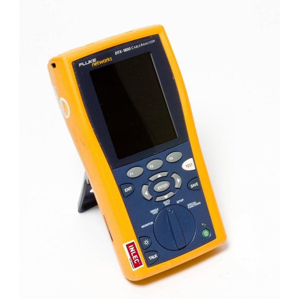Fluke Dtx 1800 Cable Network Analyser Hire Inlec