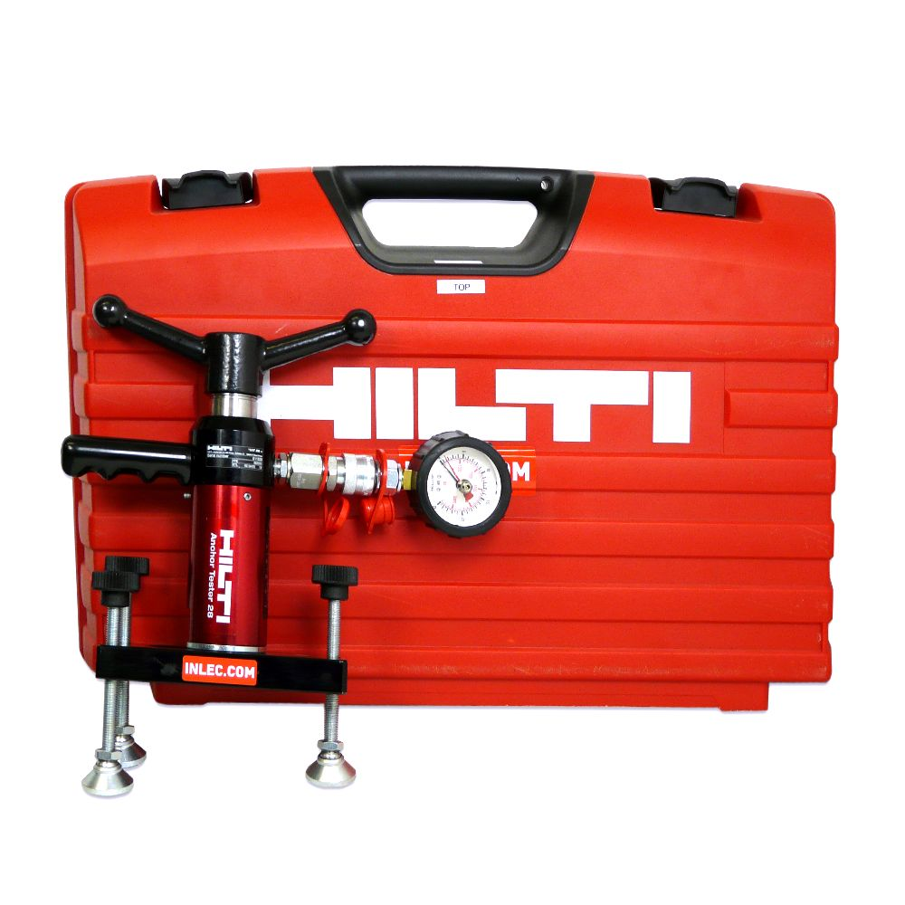 Hilti Hat 28m Master Anchor Tester Kit Hire Inlec