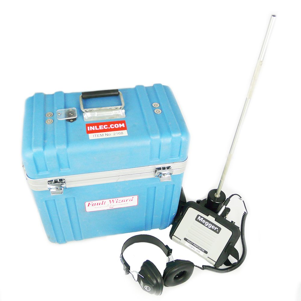 Cable Fault Locator : Iup fw with megger mpp pinpointer cable fault