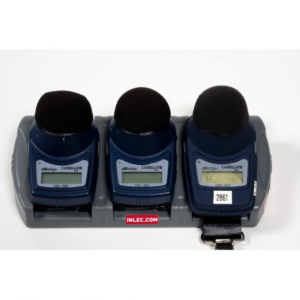 Casella Measurement dBadge IS Personal Noise Exposure Meter (ATEX) Kit Of 3x
