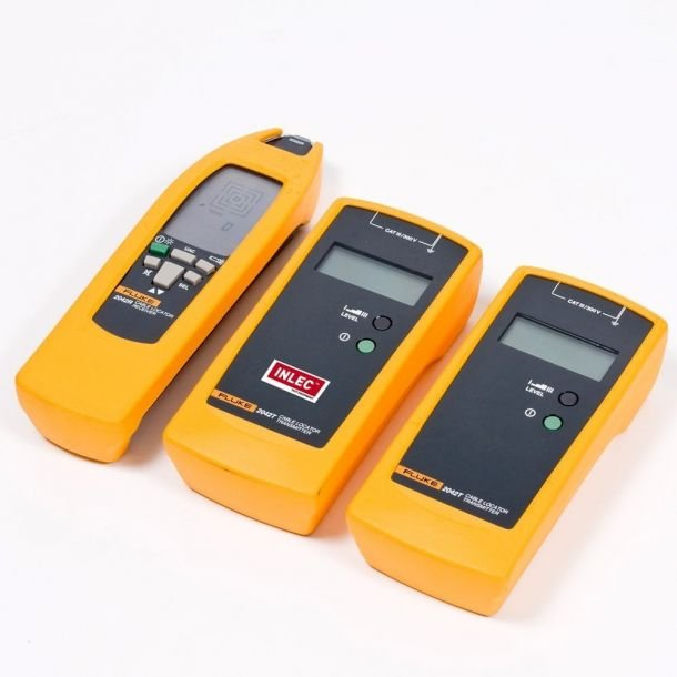 Automotive Electrical Wire Locator : Fluke cable fault locator hire inlec