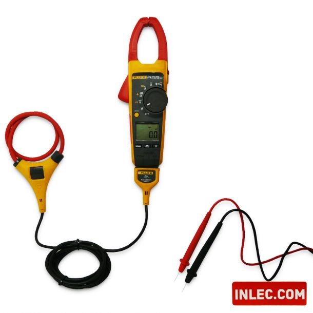 Fluke 376 Clamp Meter Ac Dc : Fluke true rms ac dc clamp meter with iflex hire inlec