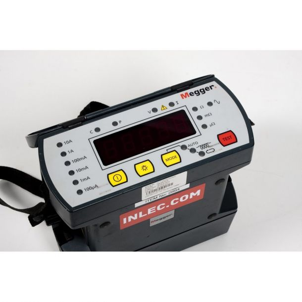 Measuring Resistance With Ohmmeter : Megger dlro digtal low resistance ohmmeter hire inlec