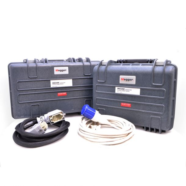 Megger INGVAR Portable 5000A (100 to 240V AC Supply) Primary Current Injection Test System