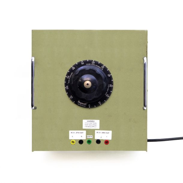 Rotary Regavolt Variac Variable Transformer 0 - 240V AC 0- 390V DC