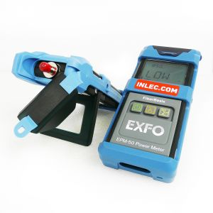 Exfo FiberBasix ELS-50-12C Multimode Light Source & EPM-53 Power Meter