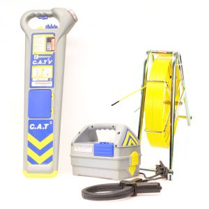Radiodetection CAT3V & Genny3 + PipeDart 80m Ferret Pipe Tracer Kit