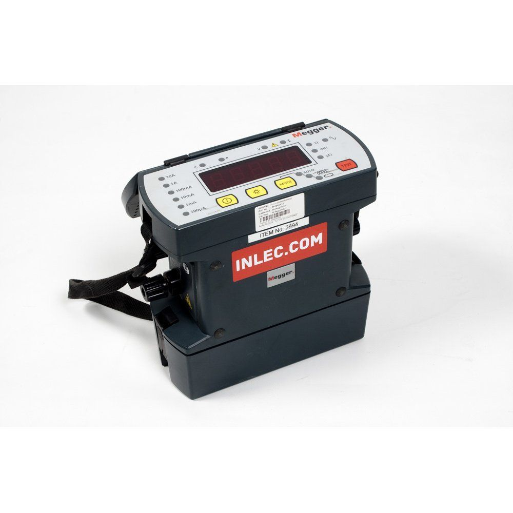 Reading An Ohmmeter : Megger dlro digtal low resistance ohmmeter hire inlec