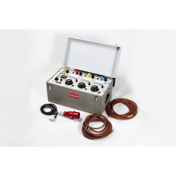 T and R Test Equipment 200A 3PH Current Injection Test Set