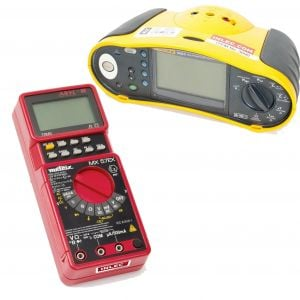 Multimeter 16th, 17th Edition Tester