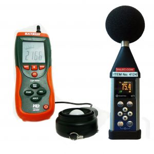 Sound Meter and Light Meter Hire
