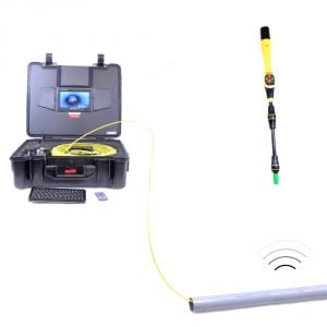 40m TV Cam Drain Inspection Camera and Vivax Sonde Locator