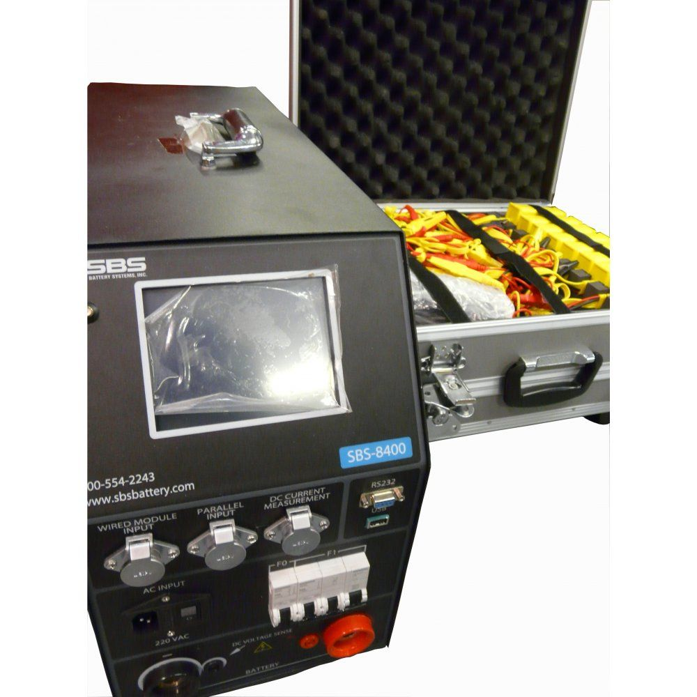 Battery Monitoring Equipment : Sbs battery capacity tester with monitoring inlec
