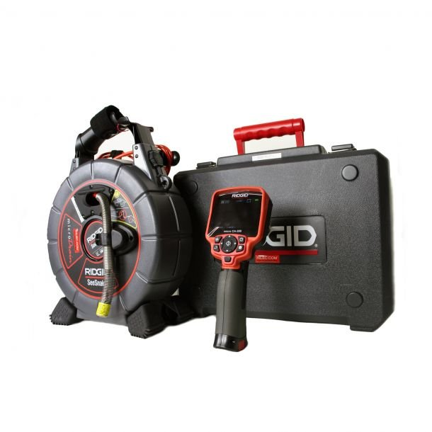 Ridgid Micro CA-300 with SeeSnake microDrain 20m Video Inspection System