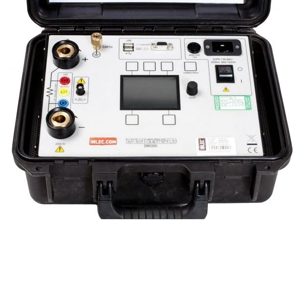T and R Test Equipment DMO200 Digital Ohmmeter