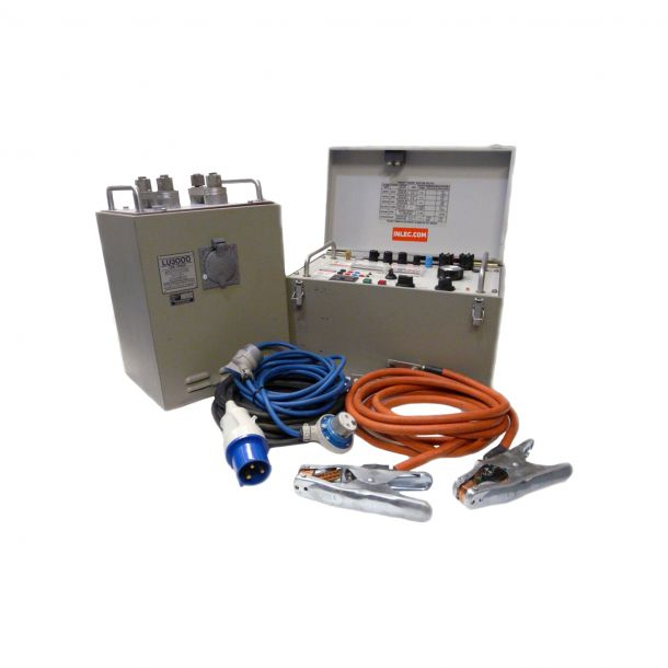 T and R Test Equipment LU3000A & PCU1E MK3 Current Injection Test Set | PCITS