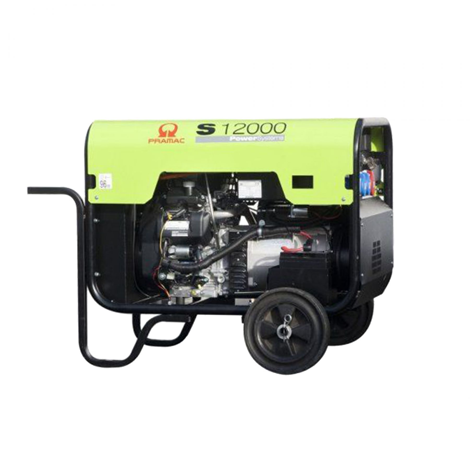 Pramac S12000 Power Systems Generator Hire Inlec