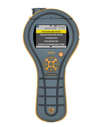 GE Measurement MMS2 Complete Protimeter Moisture Measurement System